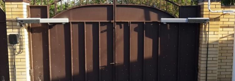 Автоматика для распашных ворот в Леруа Мерлен
