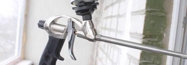 Пистолет для монтажной пены в Леруа Мерлен