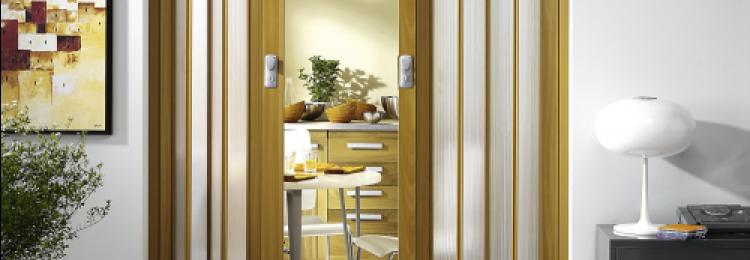 Дверь-гармошка в Леруа Мерлен