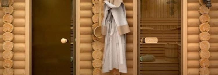 Двери для бани и сауны в Леруа Мерлен