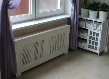 Экран для радиатора отопления в Леруа Мерлен