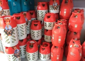 Газовый баллон в Леруа Мерлен