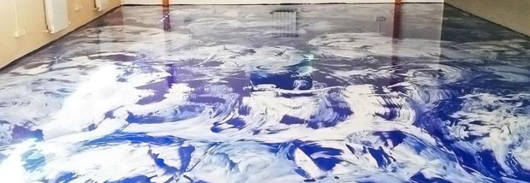 Наливной пол в Леруа Мерлен