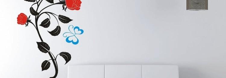 Трафареты и декоративные наклейки для стен в Леруа Мерлен