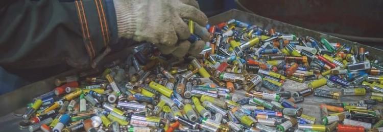 В псковском Леруа Мерлен можно сдать на утилизацию старые батарейки