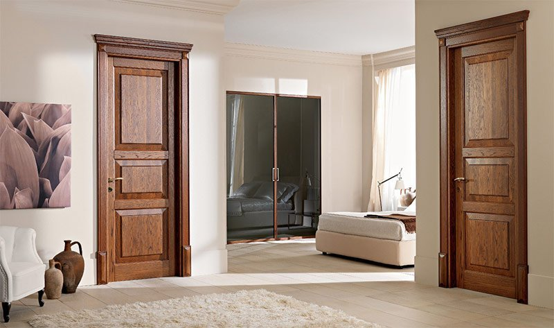 купить межкомнатные двери с коробкой дешево