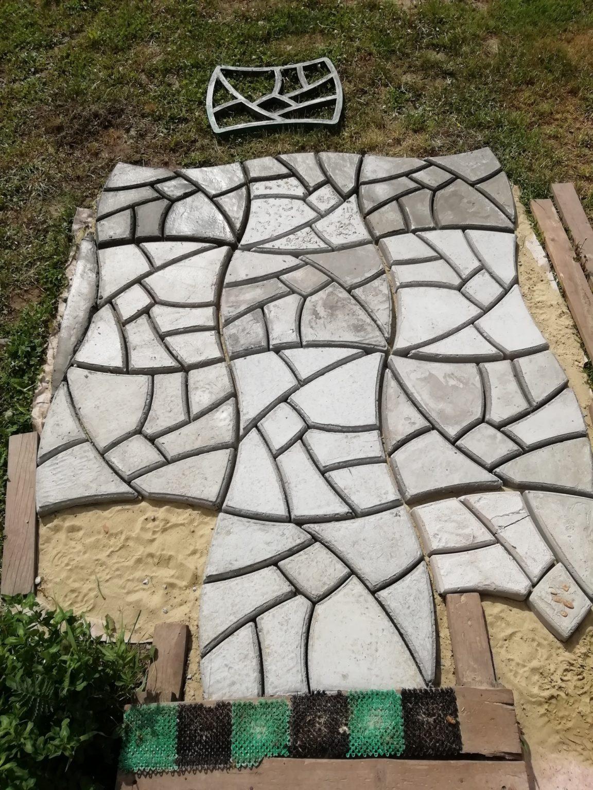 форма для тротуарной плитки купить в леруа